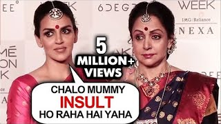 Lakme Fashion Week  Esha Deol Hema Malini INSULTED WALKS OUT Of Event Angrily  THROWBACK