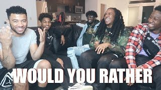 EXTREME WOULD YOU RATHER !! ft DDG & MCQUEEN