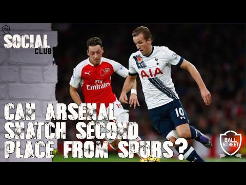 Can Arsenal Snatch Second Place From Spurs?? - Social Club with ArsenalFanTV