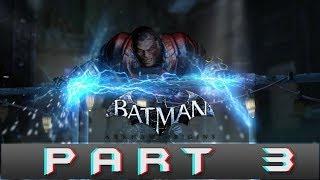 Batman: Arkham Origins Part 3 Electrocutioner Gameplay Walkthrough [PC]