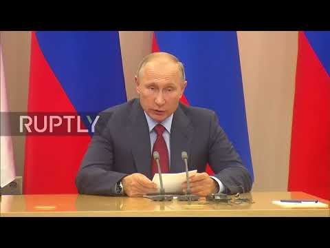 Russia: Putin and Croatian Pres. seek to expand economic cooperation