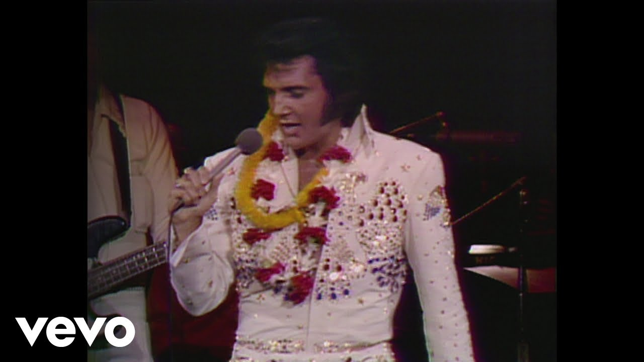 Elvis Presley Suspicious Minds Aloha From Hawaii Live In Honolulu 1973 Youtube