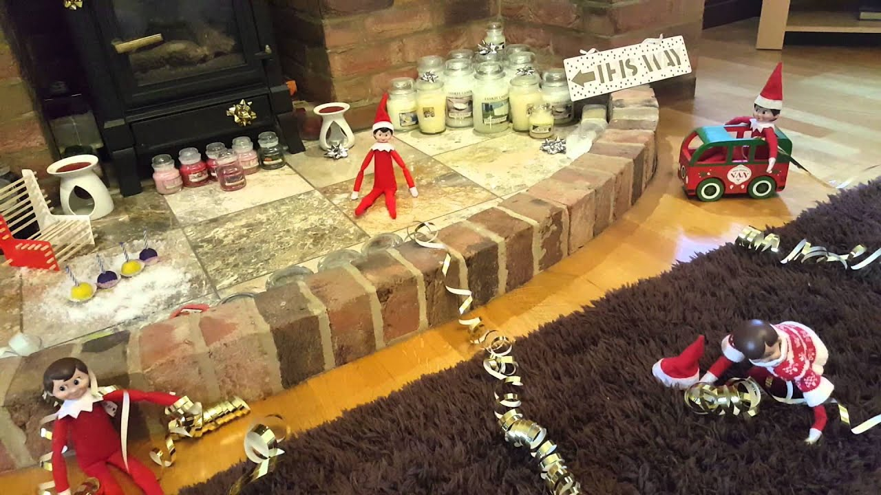 Elf On The Shelf Moving Youtube