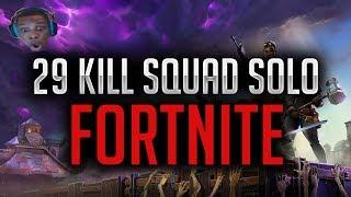 29 Kill Squad Solo BR   Fortnite