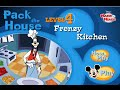 Disney's House of Mickey Mouse - Pack The House Level 4 - Goofy's Frenzy Kitchen Cooking Game
