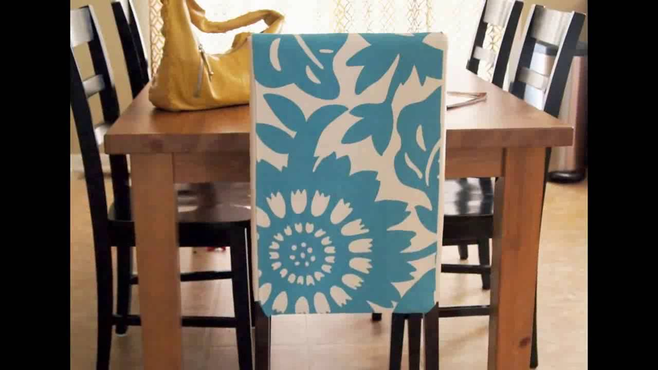 chair covers dining room bamboo chairs uk seat cheap sets youtube