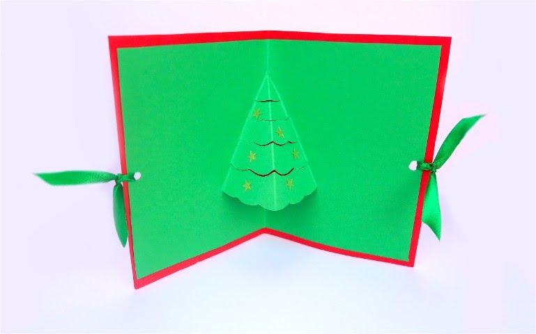 Lettera Di Auguri Di Natale In Inglese.Come Realizzare Un Biglietto Di Natale In 3d Youtube