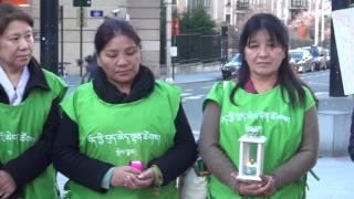 Tibetan womens Uprising day in Belgium 12/03/2017