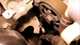 Honda CR-V Serpentine Belt Installation 2007 - 2011 in a half hour with no special tools