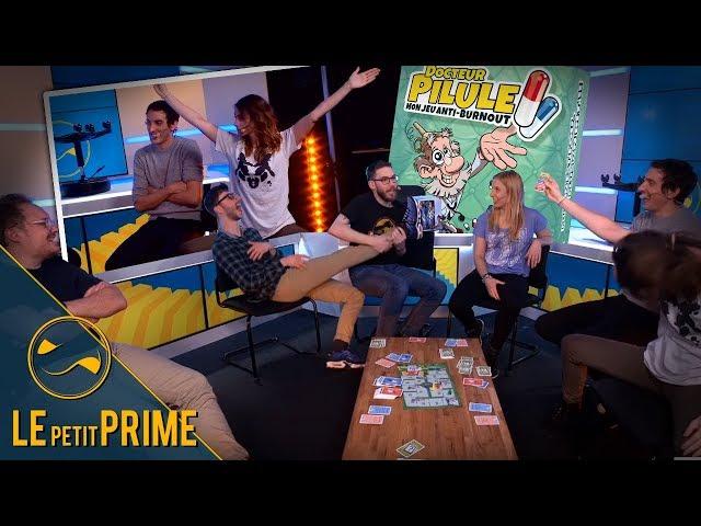 Le jeu du grand n'importe quoi ! Docteur Pilule - Le Petit Prime