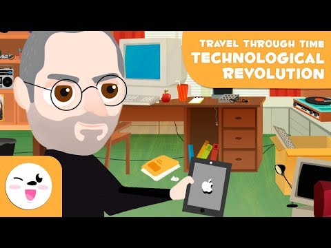 Technology for kids - Travel through Time