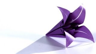 How to Make a Lily | Origami