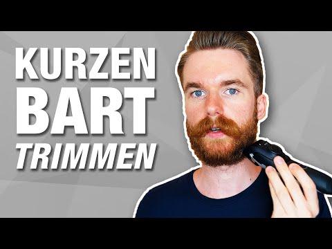 Bart in Form trimmen!   Wachstumsphase   How-To für kurze Bärte