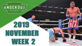 Boxing Knockouts | November 2019 Week 2
