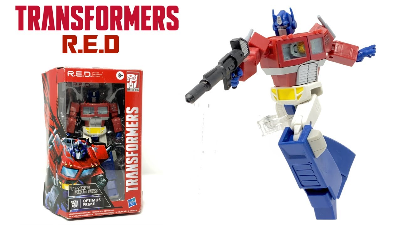 Transformers R.E.D G1 Optimus Prime In-Hand Review by PrimeVsPrime
