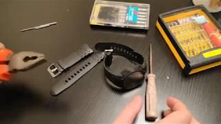Замена ремешка часов SKMEI 1068 своими руками + обзор ремешка (Watch Strap Replacement SKMEI 1068)