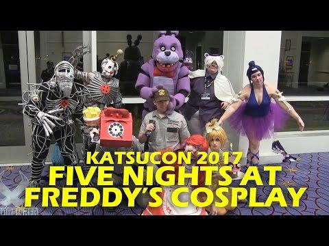 FIVE NIGHTS AT FREDDYS Cosplay Photo Shoot - Katsucon 2017