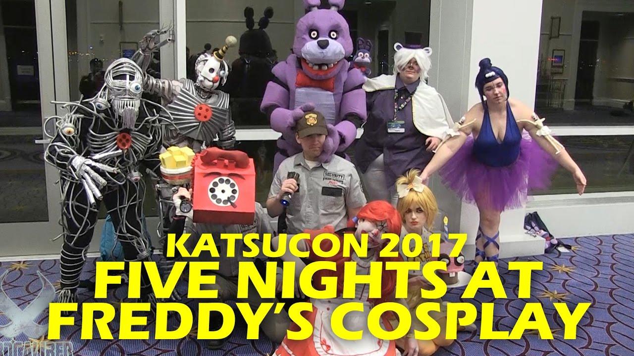 Five Nights At Freddy S Cosplay Photo Shoot Katsucon 2017