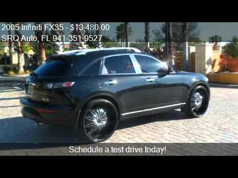 2005 infiniti fx35 base rwd 4dr suv for sale in bradenton, f - youtube