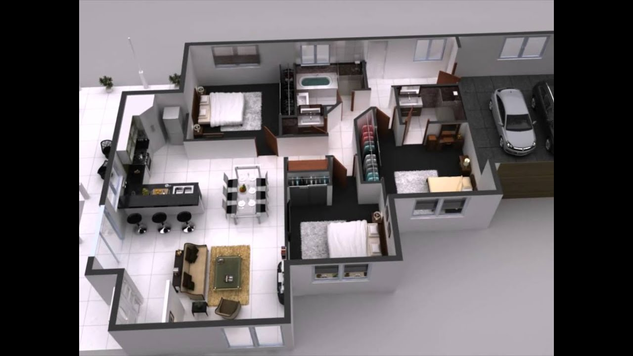 3d Home Floor Plan 25 more 3 bedroom 3d floor plans Interactive 3d Floor Plan 360 Virtual Tours For Home Interior Plan Youtube