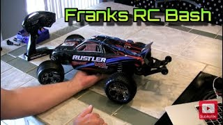 Traxxas Rustler VXL - Unboxing, Review, Test Drive - OMG FAST!