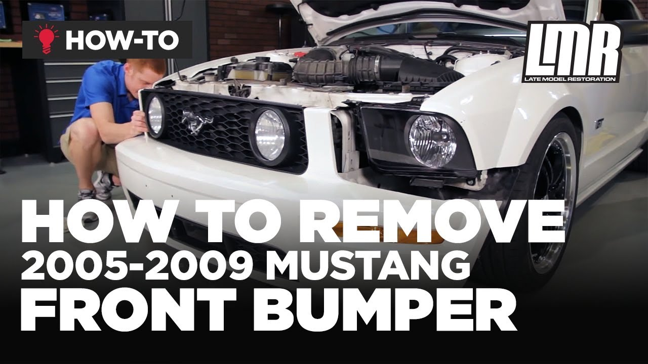 how to remove mustang front bumper (2005 2009 all) youtubehow to remove mustang front bumper (2005 2009 all)