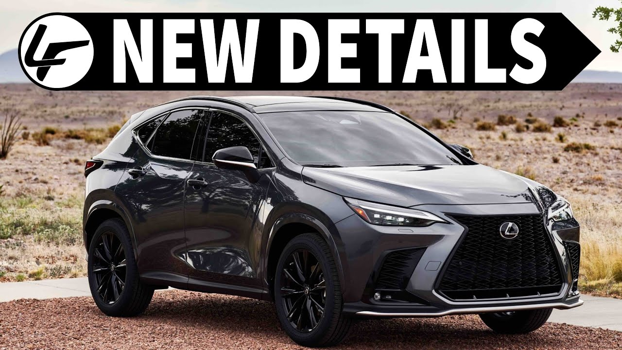 *UPDATE* 2022 Lexus NX | Packaging, Options, and COLORS