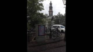 Anne Frank House: the bells of the Westerkirk from our flat one block away