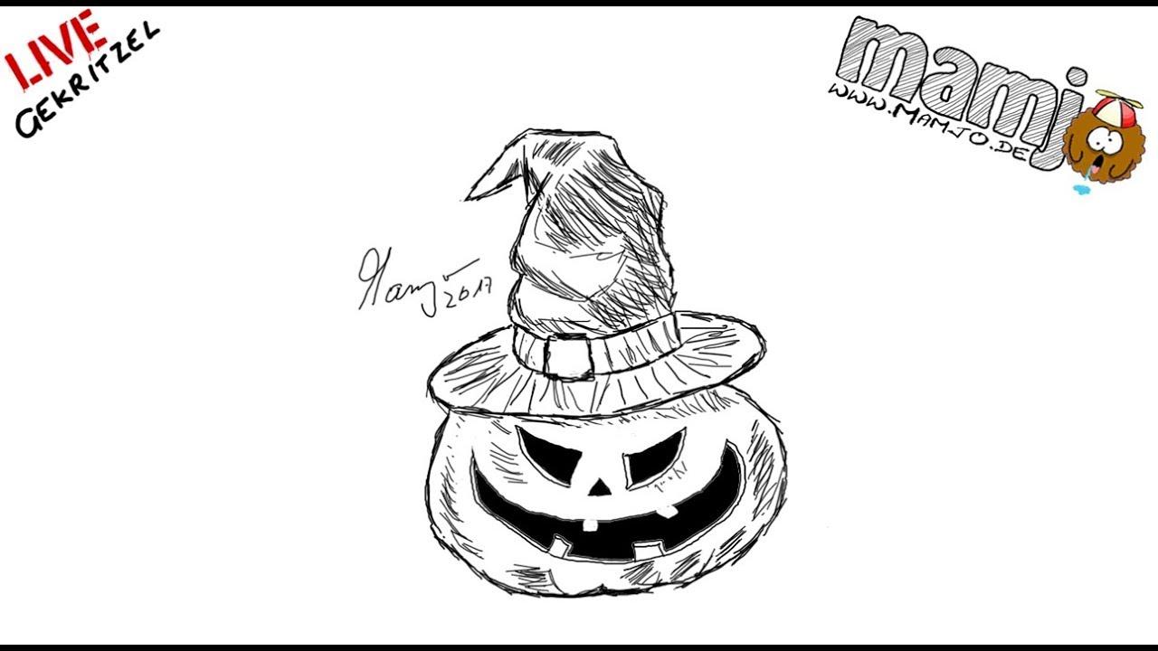 Fantastisch Halloween Kürbis Bilder Zum Ausmalen 2 Ideen ...