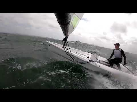 RS Aero blast in gusts of 40 knots