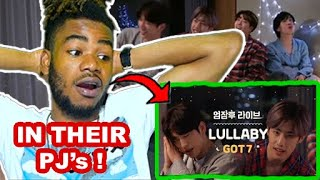 GOT7 LULLABY IN PYJAMAS [엄잠후 Live] 갓세븐(GOT7) - Lullaby (Feat…