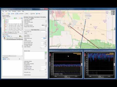 CRFS Software Simulation Tools: Part 5 (Geolocation with co-channel interference)