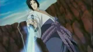 (Shippuden)sasuke vs team 7