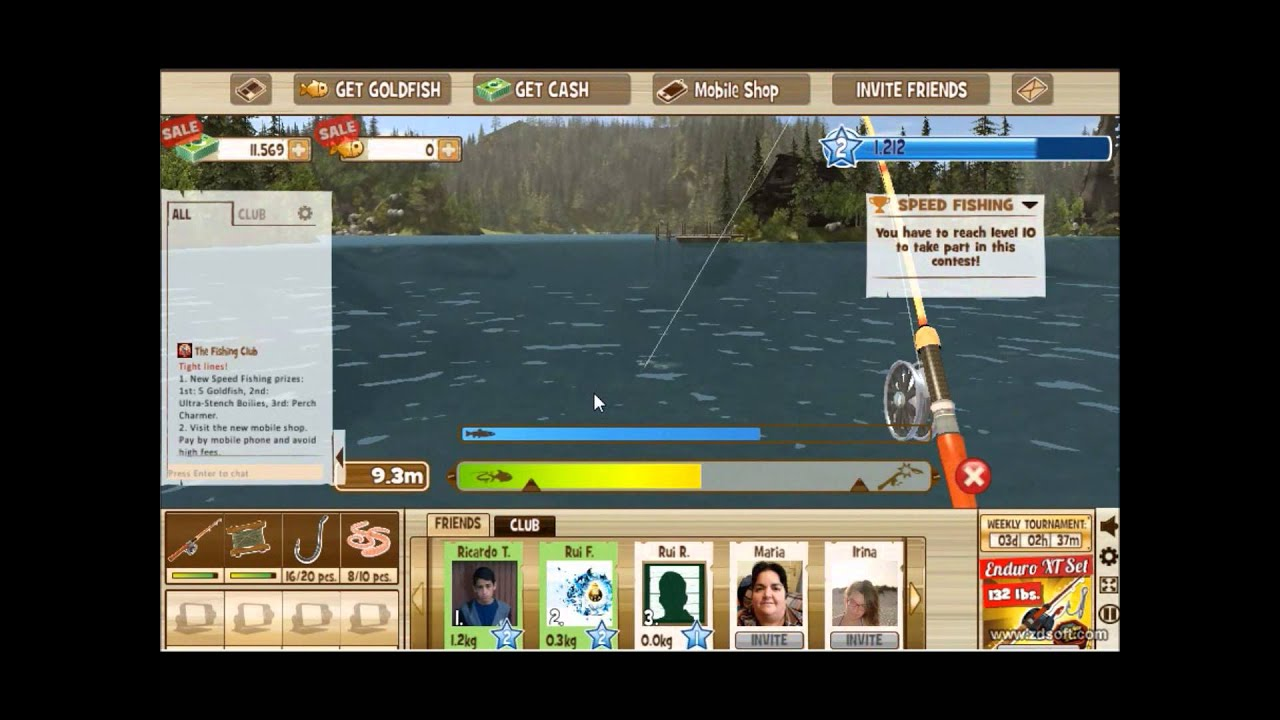 The fishing club 3d review fun game youtube for The fishing club 3d