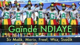 Sir Malik, Mario, Freef, Waz & Ssadik - Gaïndé Ndiaye - Clip Officiel