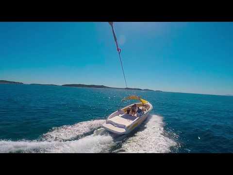 Parachute ascensionnel avec Waky Sea à Six Fours les Plages