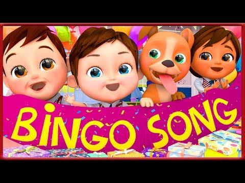 Bingo my Dog Best friend Song After Back to School  ~  Banana Cartoon [HD]