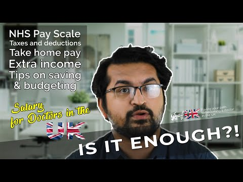 Doctor's Pay in the UK | NHS Salary Structure | Junior, Registrar, Consultant/GP Salary | Locum Pay