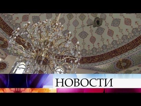 В Донецке рядом с мечетью разорвался снаряд.
