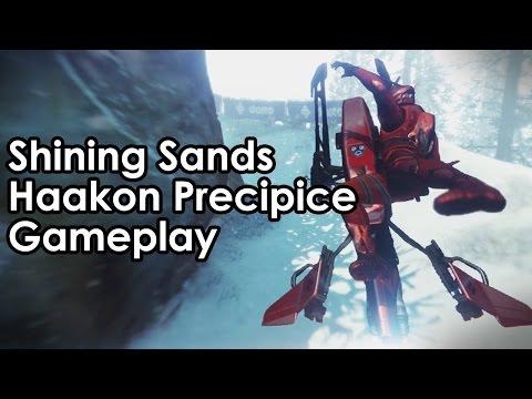 Destiny Rise of Iron: The Dawning SRL - Full Race Gameplay of Shining Sands & Haakon Precipice
