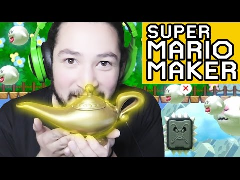 ENTER GENIE WISHES - SUPER MARIO MAKER
