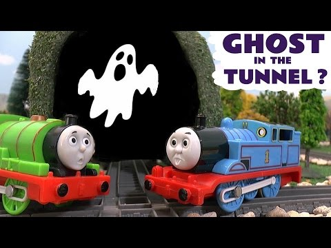 Thumbnail: Thomas & Friends Toy Trains Ghost In The Tunnel Episode - Train Toys for Kids Fun Stories TT4U