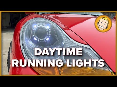 How to install DAYTIME RUNNING LIGHTS on a Porsche 986/996
