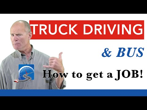 How to Search for a Truck Driving Job