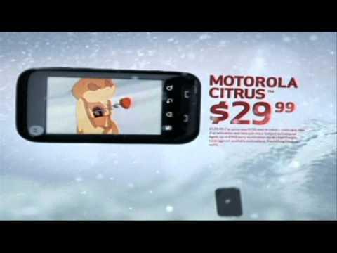 Verizon 2010 Christmas Commercial