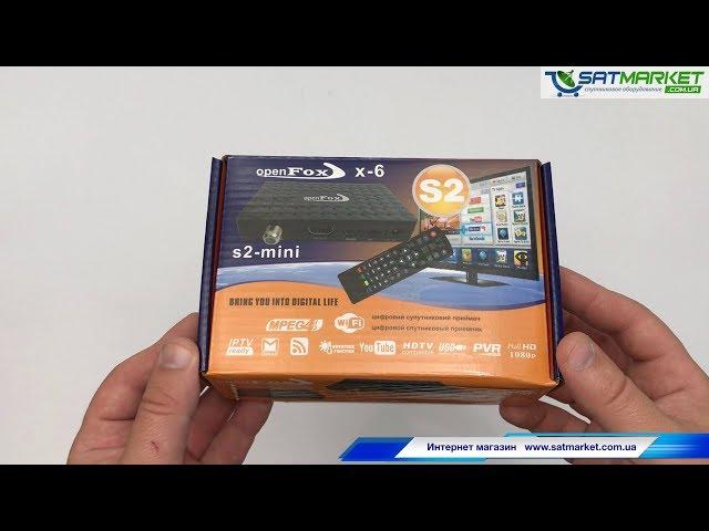 Видео обзор OpenFox X6