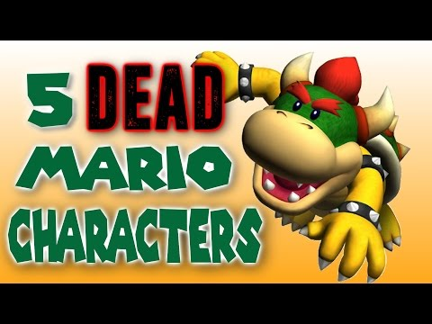 Thumbnail: 5 Dead Characters from the Mario Universe