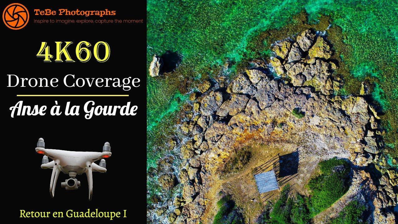 4K/60fps Drone Coverage | Anse à la Gourde, Guadeloupe