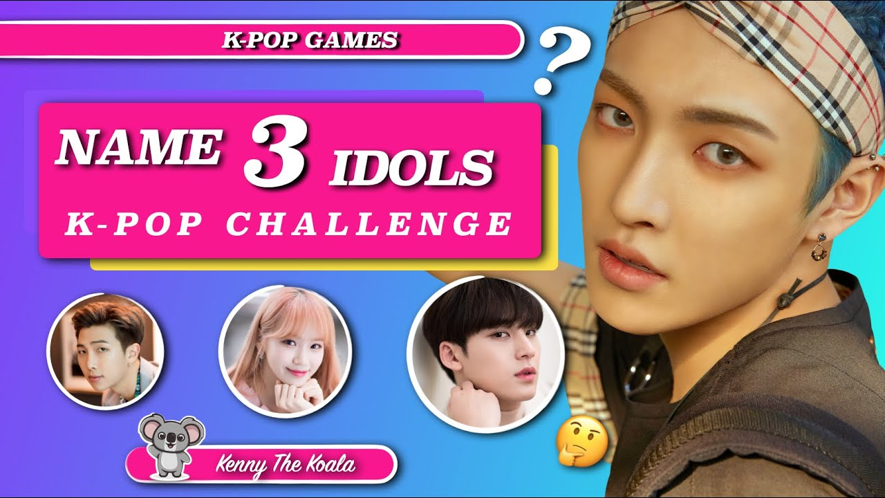 Name 3 Idols Challenge! #2 |K-POP GAME|