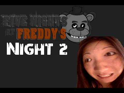 FIve Nights at Freddy's - Second night